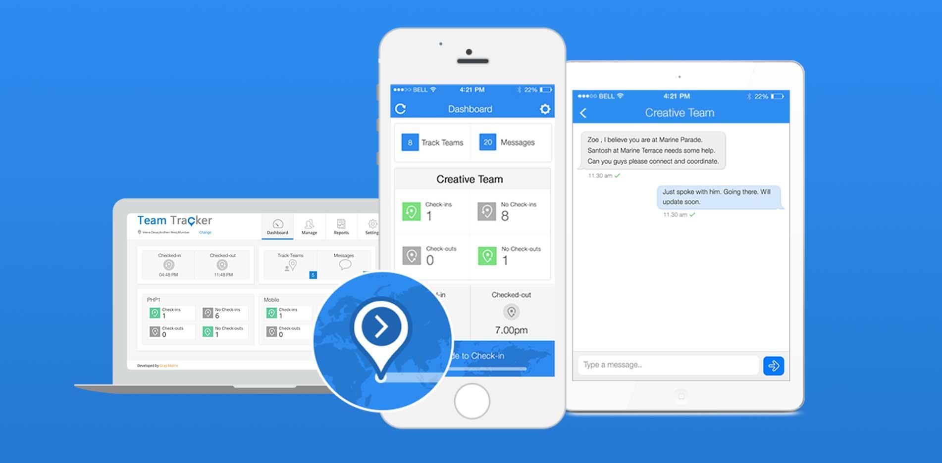 Team Tracker App